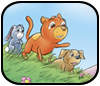 Art from Cuddly Critters™ cute cartoon animals